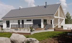 Rakensimme Jyväskylän asuntomessuille muuttovalmiin Ladon.