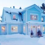 Luminen avaimet käteen mansardikattoinen Rauhala