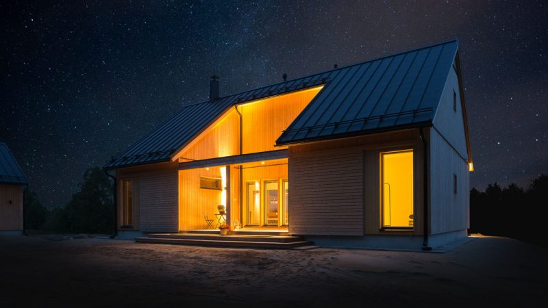 lato talomalli iltavalaistuksessa